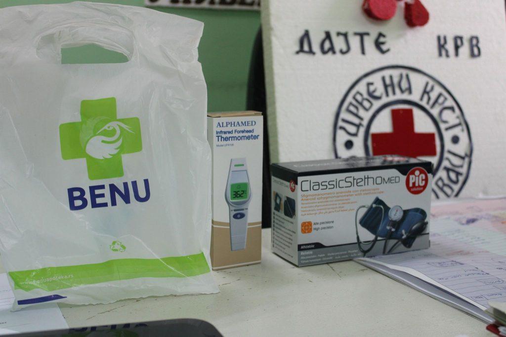 Апотека БЕНУ – донација Црвеном крсту Деспотовац