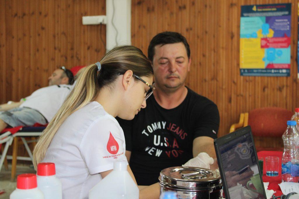 24. јун 2021. Реализована акција Добровољног давања крви – Летња кампања