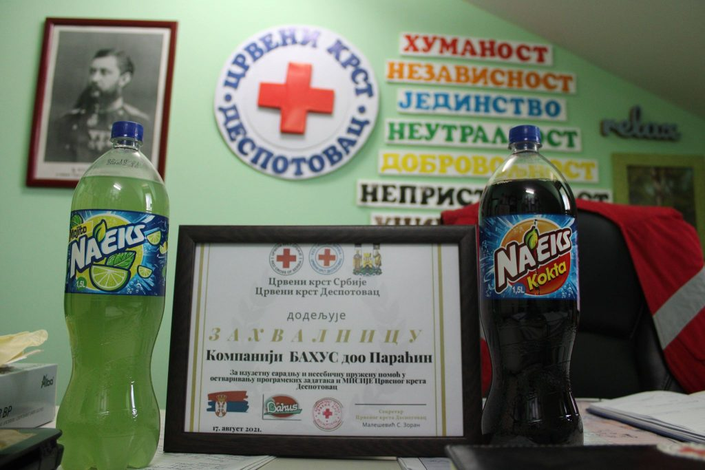 Донација Црвеном крсту Деспотовац