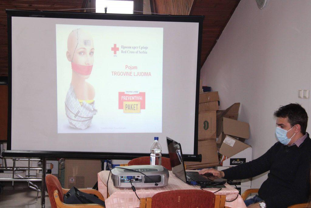 Antitrafiking  – предавање за волонтере ЦК Деспотовац