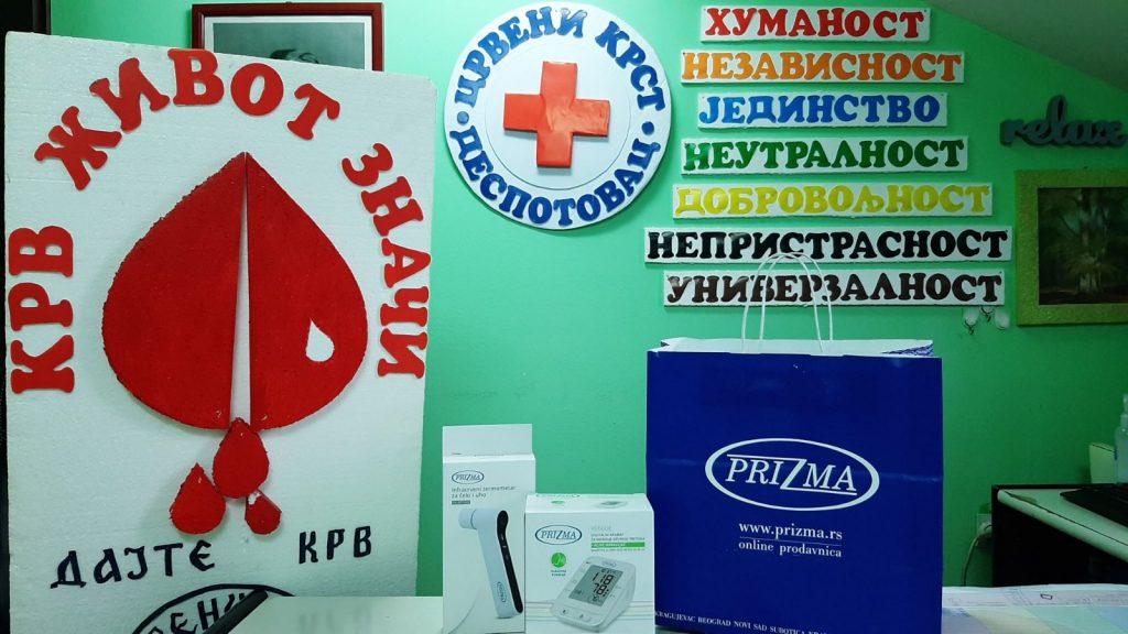 Призма Крагујевац – донација Црвеном крсту Деспотовац