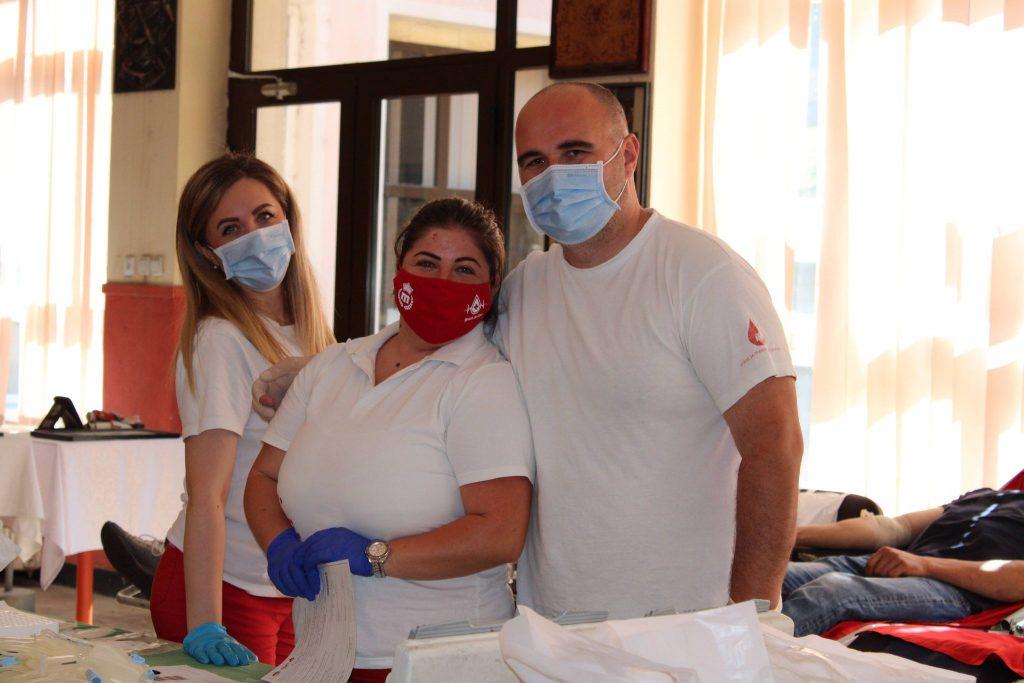 Акција Добровољног давања крви – Дом културе Ресавица